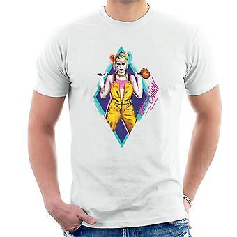 Birds of Prey Harley Quinn Diamond Men's T-Shirt