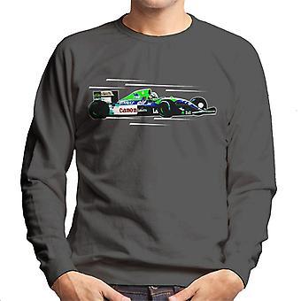 Immagini Motorsport Nigel Mansell FW14 A Silverstone Uomo's Sweatshirt