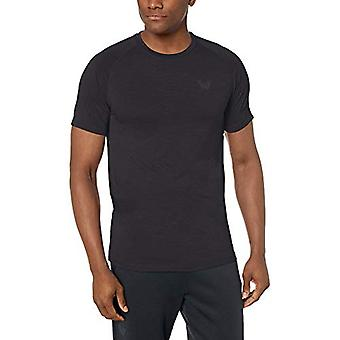 T-shirt Peak Velocity Men-apos;s VXE Short Sleeve Quick-Dry Athletic-Fit Crew T-shirt, Bla...