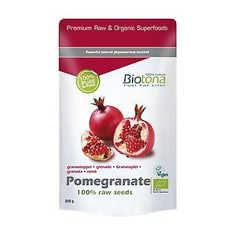Raaka Orgaaninen Granaattiomena Siemenet 200 g