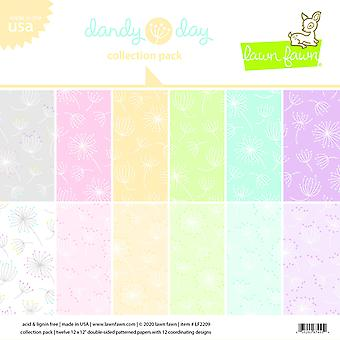 Lawn Fawn Dandy Day 12x12 Inch Collection Pack