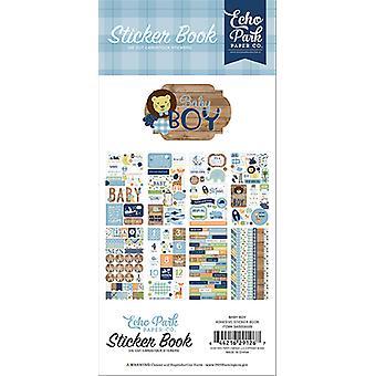 Echo Park Baby Boy Sticker Book
