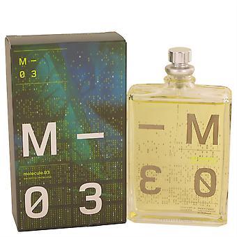 Molecule 03 Eau De Toilette Spray By Escentric Molecules 104 Ml