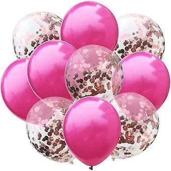 حزب بروز كونفيتي البالونات مجموعة