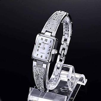 Art-Deco filigrane Damen Uhr Silber oder Gold für Frau