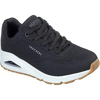 Skechers Womens Uno Stand On Air Memory Foam Trainers