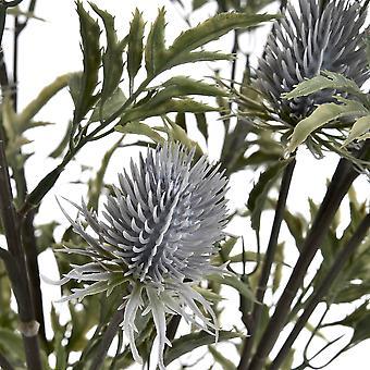 Hill sisätilat keinotekoinen Eryngium Thistle