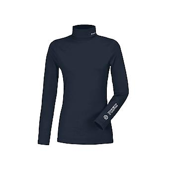 Pikeur Sina Womens Polo Neck Pullover - Night Sky