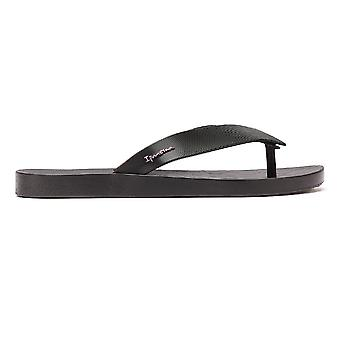 Ipanema Hit Womens Black Flip Flops
