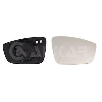 Vidrio espejo lateral del conductor derecho (calentado) para Skoda RAPID Spaceback 2013-2018