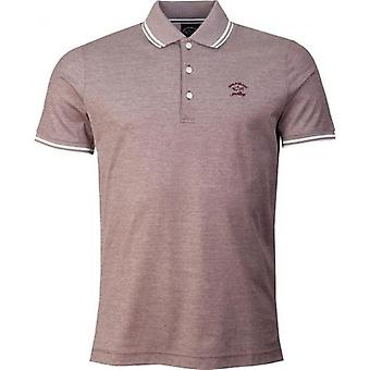 Paul And Shark Tipped Pique Polo Shirt