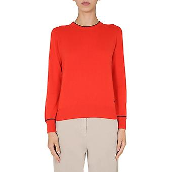 Tory Burch 76014622 Women's Red Cashmere Sweater