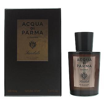Acqua di Parma Colonia Sandalo Eau de Cologne Concentree 100ml Spray For Him NEW