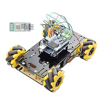 New Double Chassis Mecanum Wheel Robot Car Chassis Kit With Tt Motor For Arduino