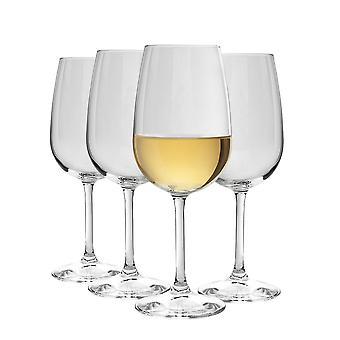 Bormioli Rocco Nadia Bordeaux vinglas Sæt | Blyfrit glas | 545ml (18 1/2 oz) - Pakke med 8
