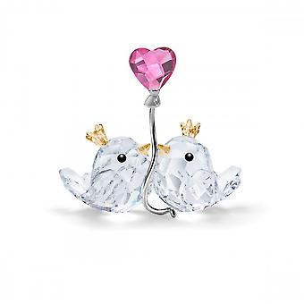 Swarovski Love Birds Pink Heart Light Multi Coloured 5492226