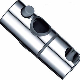 Barre de soutien réglable de 24-25mm de glissière de douche pour abs de salle de bains -plastique chromé