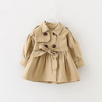 Baby Jacket Casaco Coat Spring Baby Jas Trench Double Breast Windbreaker For Girl Kids Jacket