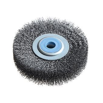 Lessmann Wheel Brush D80mm x W18-20 x 10 Bore Steel Wire 0.20 LES312142