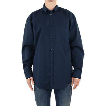 Balenciaga L/S Shirt Blue 621924TIM394100 Top