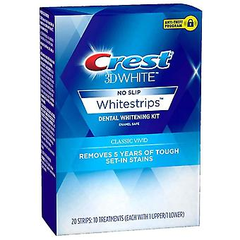 Crest 3d white whitestrips classic vivid treatments, 10 ea