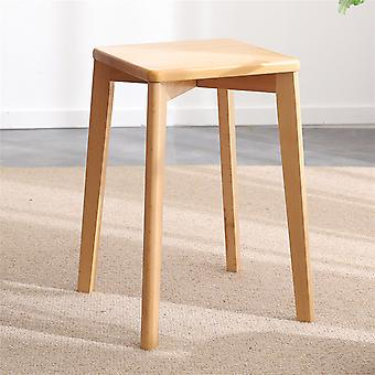 Vintage Stool Rustic Wooden Stacking Stools Bar Pub Chair Kitchen Breakfast Seat