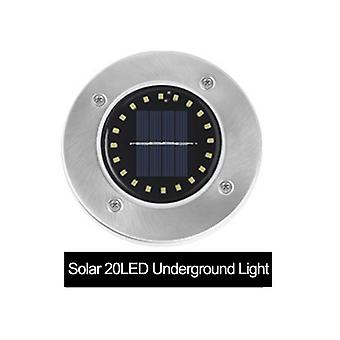 Leds Solar Power Buried Light, Ground Lamp