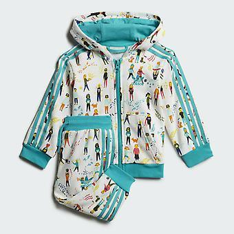 Adidas Infant Tracksuit Full Set - ED7706