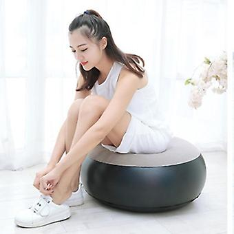 Outdoor Inflatable Stool, Foot Rest Pillow Blow Up Round Air Seat