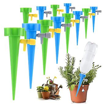 Auto Drip Irrigation Watering System Dripper Spike Kits Garden Household Plant Flower Automatic Waterer Tools