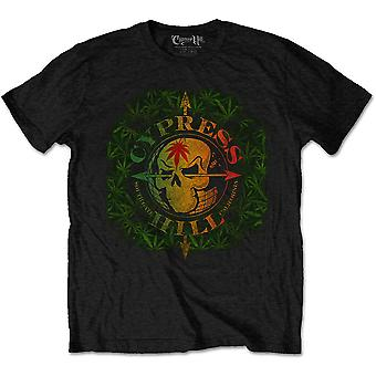 Cypress Hill South Gate Logo & Leaves Official Tee T-Shirt Mens Unisex