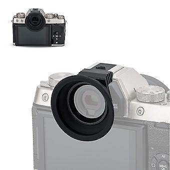 Kiwifotos eyecup rubber eyepiece for fujifilm fuji x-t100 viewfinder (hot shoe mount installation) e