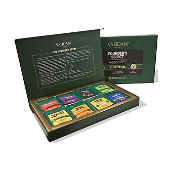 Assortment of founder's select teas 80 g