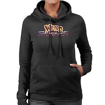 Weird Science Logo Kvinnor och apos;s Hooded Tröja