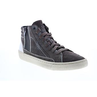 Geox U Warley  Mens Gray Suede Lace Up Euro Sneakers Shoes