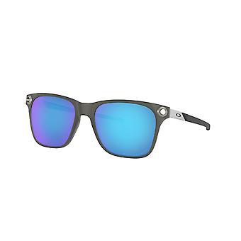 Oakley Verschijning OO9451 06 Satijn Zwarte Inkt/Saffier Iridium Gepolariseerde Zonnebril