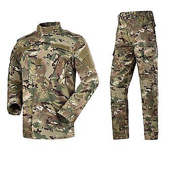 Kamuflasje Hæren spesialstyrker militære uniform / kamp skjorte arbeidsklær og