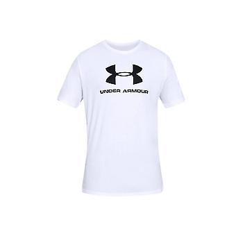 アンダーアーマー スポーツスタイル ロゴ ティー 1329590100 ユニバーサル オールイヤー メンズ Tシャツ