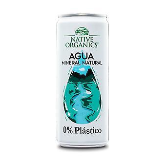 Native Organics Mineral Water 0% Plastic 1 unit