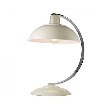 Lámpara Franklin, Crema