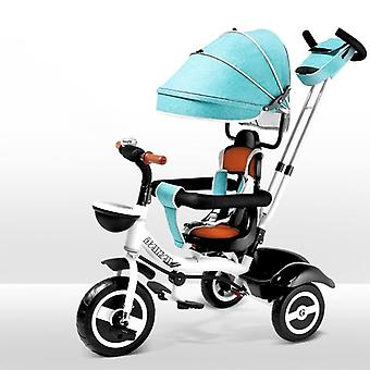 Child Tricycle Easy Folding Bicycle, Rotatable Seat, Baby Trolley, Three Wheel