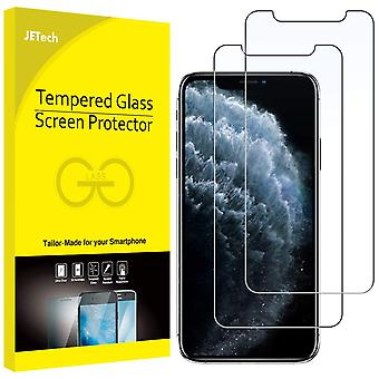 Jetech screen protector for apple iphone 11 pro, iphone xs and iphone x 5.8-inch, case friendly, tem wof40169