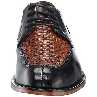 Stacy Adams Mens Winthrop Leather Lace Up Casual Oxfords