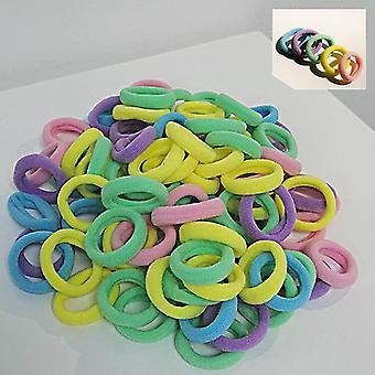 Fascia colorata, piccoli elastici fasce per capelli scrunchie gomma per il bambino