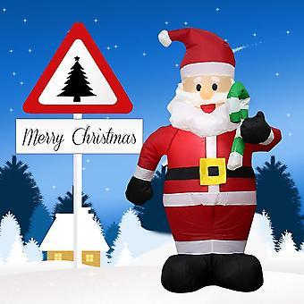 Santa gonflable de Noël