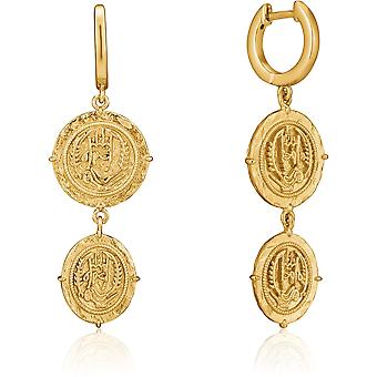 Ania Haie AH E020-02G Gold Digger Ladies Earrings