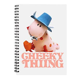 The Magic Roundabout Ermintrude Cheeky Thing Spiral Notebook