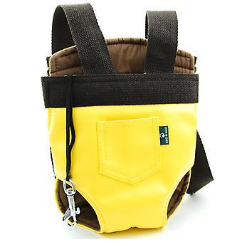 نزهة المحمولة الصدر حقيبة الجراء الصغيرة حقيبة القط الخلفي حقيبة الحيوانات الأليفة حقيبة السفر