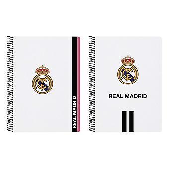 Sormusten kirja Real Madrid C.F. Valkoinen Musta A5