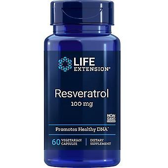 Life Extension Resveratrol 100mg Vegicaps 60